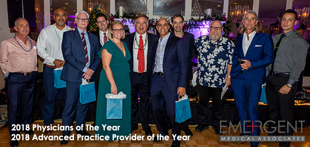 EMA's 2018 Emergent Medical Associates Physicians of the Year