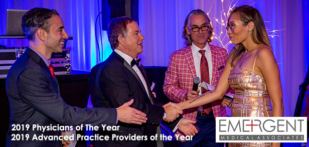 2019 Emergent Medical Associates Physicians of the Year & Advanced Practice Providers of the Year!